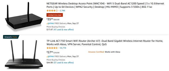 Traditional Router on sale for $35 on Amazon