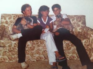 Tom, Nancy and John. Those awful Sheppard kids.