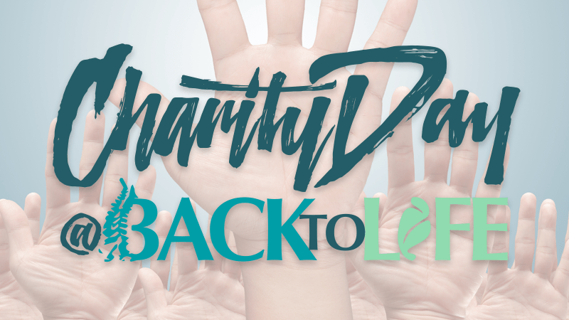 Back II Life's Annual Charity Day 2016