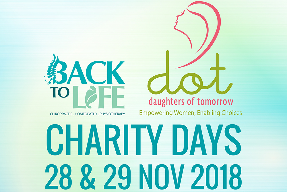 Charity Days 28 & 29 Nov 2018 – Daughters Of Tomorrow