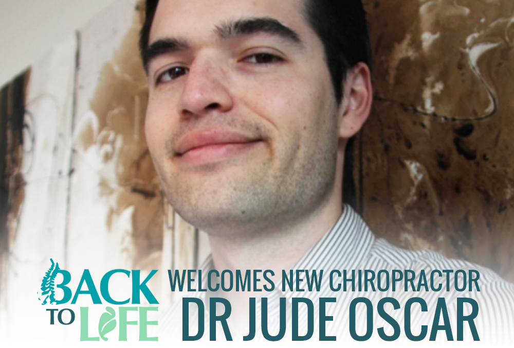 Back II Life Welcomes Dr Jude Oscar