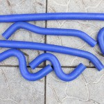 Патрубки отопителя (печки) Газель Некст дв. Каминс силикон. Цена 750 грн.
