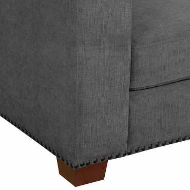 Cool Kyra Fabric Sectional B2 Outlets Theyellowbook Wood Chair Design Ideas Theyellowbookinfo