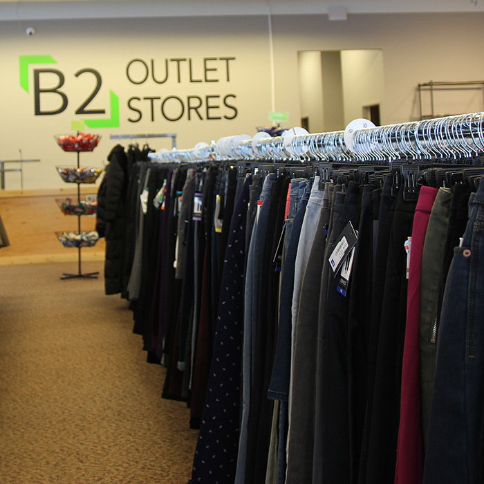 B2 Outlet Stores, Women's Pants, Men's Pants