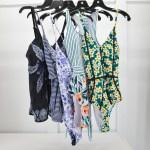 Women's Swim Wear, Women's Full-Swimsuit, Floral Swimwear