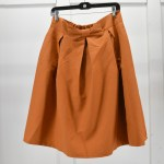 Orange Women's A-Line Skirt, Wholesale Opportunity