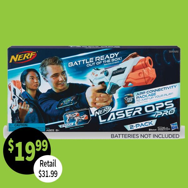 Nerf Gun Laser ops 2 pack