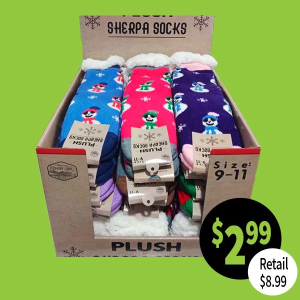 Sherpa Slipper Socks