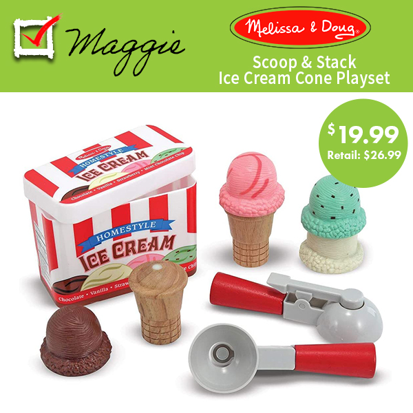 Melissa and Doug Ice Cream Set