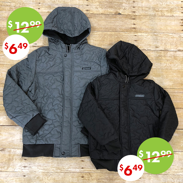 50% off, On sale boy's winter coats and jackets