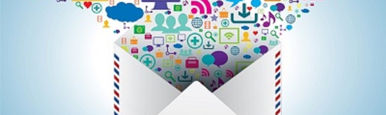 communication and file sharing by e-mail message in business