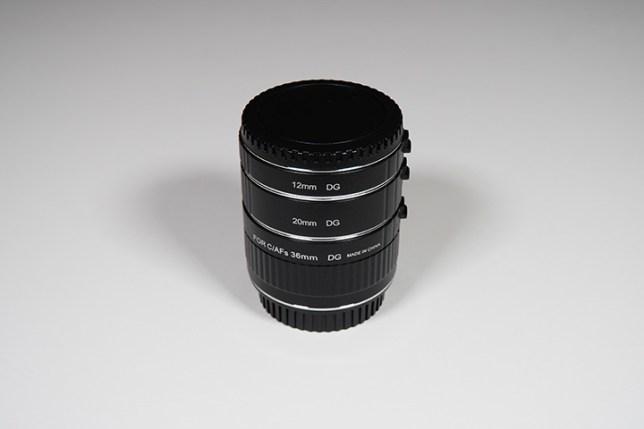 VILTROX DG-C AUTOMATIC EXTENSION TUBE Set Canon (12mm, 20mm, 36mm)