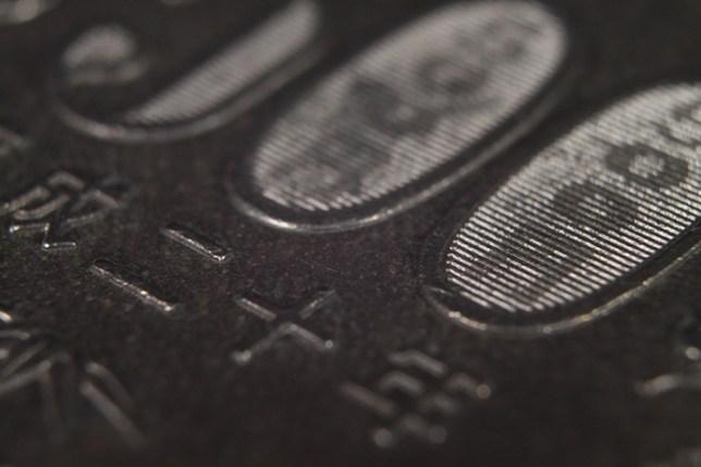 EF-S18-55mm F3.5-5.6 IS + VILTROX DG-C AUTOMATIC 接写リング 36mm+20mm+12mmで撮影した500円硬貨