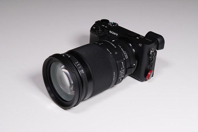 α6400 + マウントコンバーター + SIGMA 18-300mm