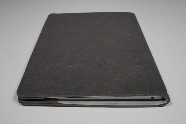 KOOL RIVER MacBook Air 13.3インチ用 手帳型 レザー ケース/カバー 右側面