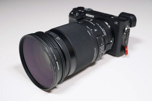 α6400 + MC-11 + SIGMA 18-300mm + フィルター