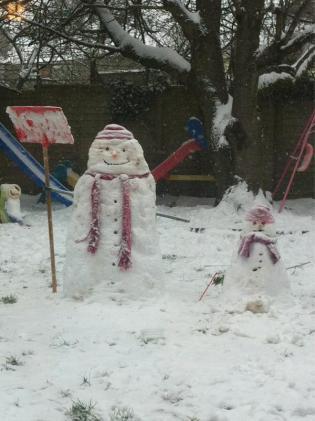 Snow women by Paul Flewitt