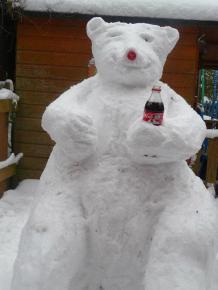 WINNER! Coca Cola bear by Susan Burton