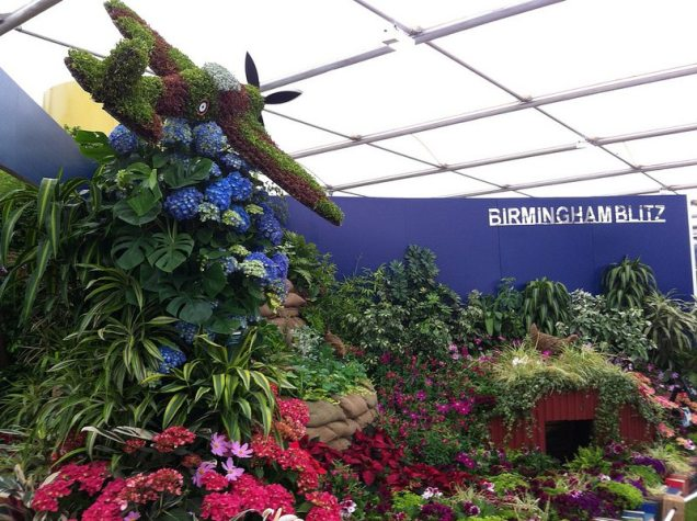 Segment representing Annie Murray's 'Birmingham Blitz'