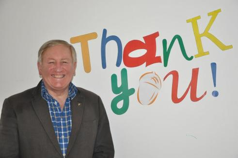 """Acorns' Chief Executive David Strudley says """"Thank you! to B31 supporters"""
