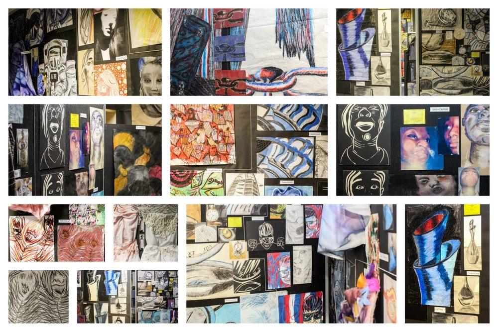 ARK, ARK Kings, ARK Kings Academy, Art, GCSE, Kings Norton, Birmingham