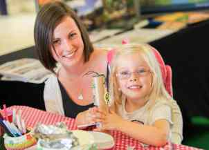Heidi-Grace McCann, 3, of Weoley Castle with mum, Lizzie