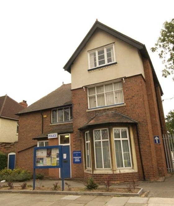 Longbridge Police Station, the base for Longbridge & Northfield neighbourhood teams
