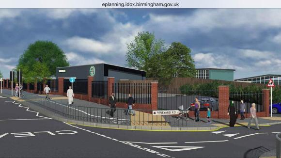 CGI image submitted with planning application