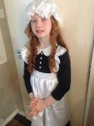 Layla Kelly (9) from Weoley as Hetty Feather, her favourite Jacqueline Wilson character. She'll be dressing up again when she goes to see it on stage soon!