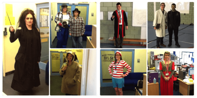 Staff at Turves Green Boys School - some of them are a bit scary! ;)
