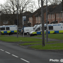 Police close Long Nuke Road and prepare to evict travellers