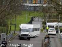 Travellers leave Shenley Academy