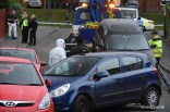 Three vehicles were recovered from the scene by police