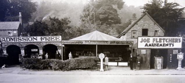 The original Fletcher's Arcade was opened on the same Lickey Road site in 1920 by Joe Fletcher
