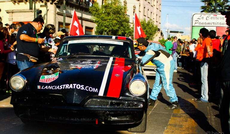 Gran competencia en La Carrera Panamericana