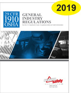 1910 OSHA General Regulations Updated 2019