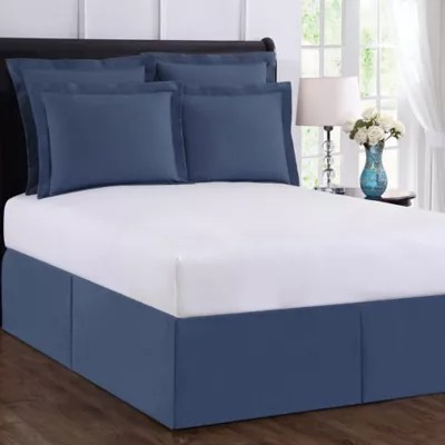 navy blue bed skirt queen bed bath
