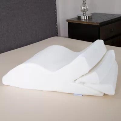 adjustable leg wedge support cushion