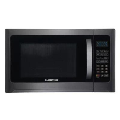 nostalgia electrics 0 7 cu ft microwave oven in aqua