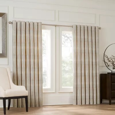wide curtains bed bath beyond