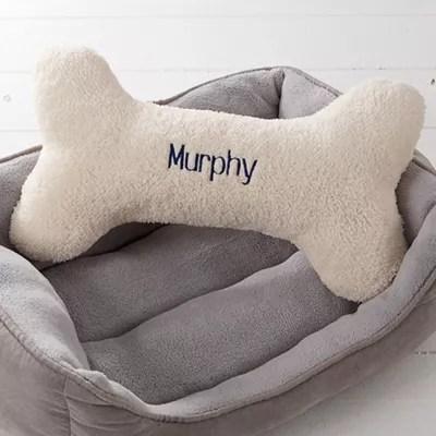 dog bone pet pillow
