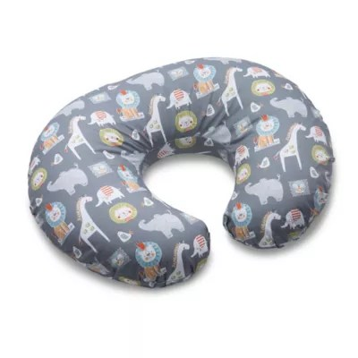 boppy sketch slate nursing pillow and positioner in grey