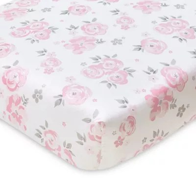 floral crib sheet bed bath beyond