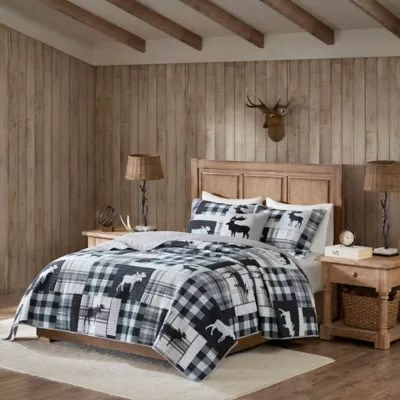 woolrich sweetwater reversible quilt set