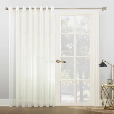 front door curtains bed bath beyond