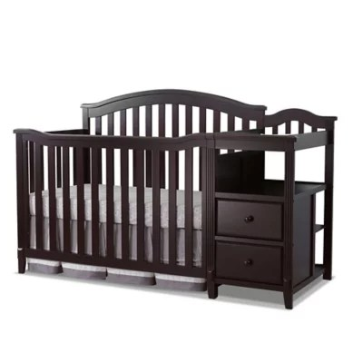crib changing table combos buybuy baby