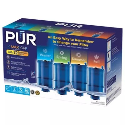 pur mineralclear faucet mount refill filters set of 4