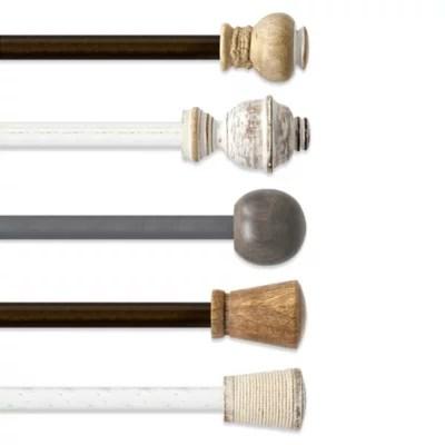 the farmhouse collection curtain rod