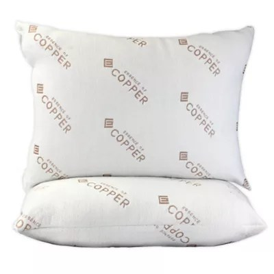essence of copper 2 pack standard queen bed pillows bed bath beyond