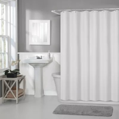 titan 70 inch x 72 inch waterproof fabric shower curtain liner bed bath and beyond canada